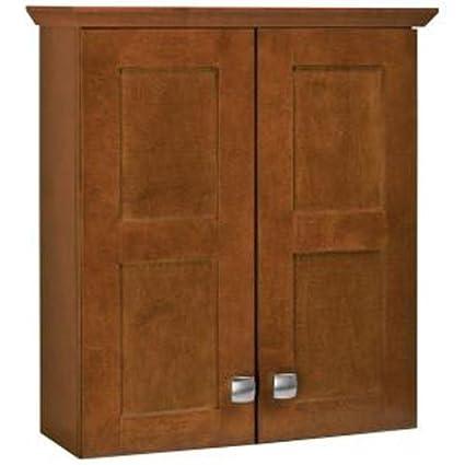 Beau American Classics By RSI TTARTY CHT Artisan 19 Inch Bath Storage Cabinet,  Chestnut