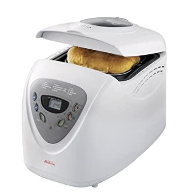 Sunbeam 5891 2-Pound Programmable Breadmaker, White