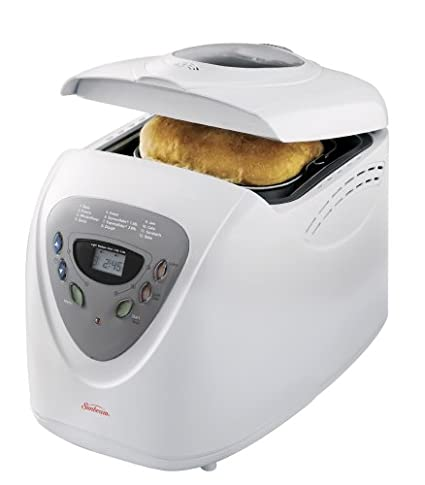Sunbeam 5891 2 Pound Programmable Breadmaker, White