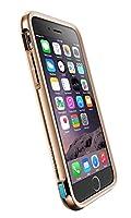 iPhone 6s/6 Plus X-Doria Defense Lux [Military Grade Drop Protection] TPU and Aluminum Premium Protective Case, Brown Croc