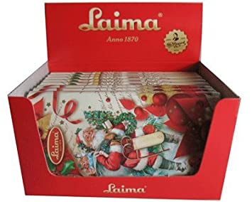 milk chocolate happy new year laima set of 15 bars