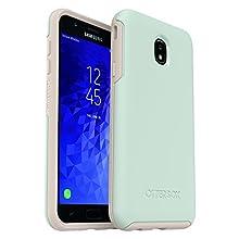 OtterBox Symmetry Series Case for Samsung Galaxy J7 2nd gen/J7 V 2nd gen/J7 Refine - Retail Packaging - Muted Waters (SURF Spray/Silver Lining)