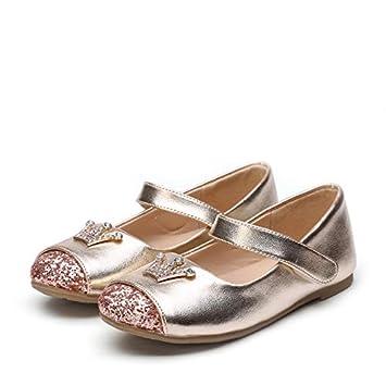 617f6df5a7962 Afcity Infant Junior pour enfants Fille pour fille Chaussures décontracté  Chaussures Princesse Unique Chaussures Boucle Paillettes
