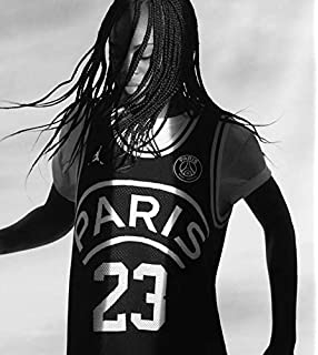 5906466fb8fd Jordan Paris Saint-Germain PSG 23 Men s Basketball Jersey 2018-2019 Black