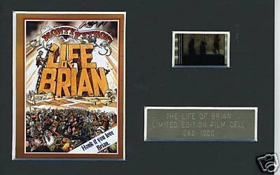 Monty Python The Life of Brian Limited Edition film Cell m