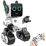 Aukfa Remote Control Robot, Robots for Kids Intelligent Programmable Robot Dancing,Singing,Talking,Voice Recording,Built…