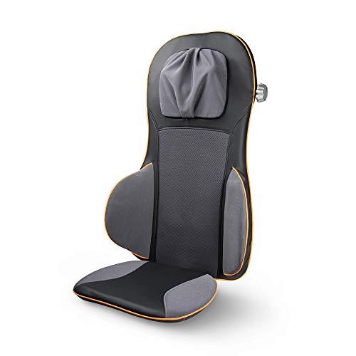 Medisana 88939 MC 825 – Cojín de asiento de masaje con acupresión, masaje de cuello, función calor, 3 intensidades…