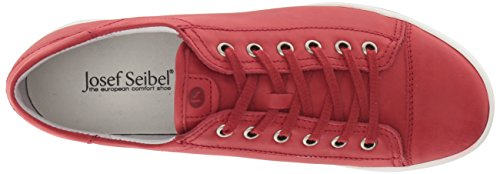 11 Women's Josef Sina Fashion Red Sneaker Seibel wZqxP87