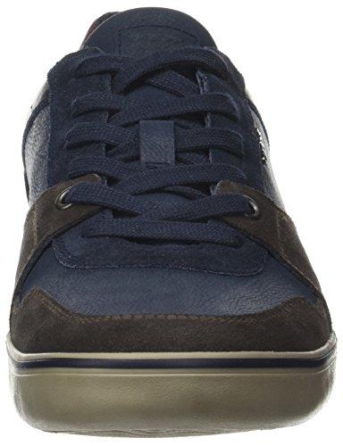 Navy U Dk Geox A Box Zapatillas para Hombre Coffee Azul qT6waA