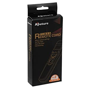 Aputure Timer Camera Remote Shutter Cable (TR1N)