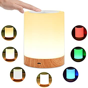 UNIFUN Touch Lamp Table Bedside Lamps For Bedrooms Living Room - One touch lamps bedroom