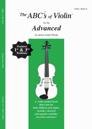 The ABCs of Violin for the Advanced, Book 3 -