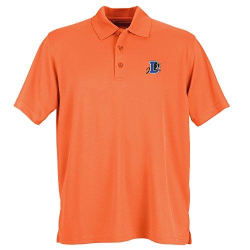 - Vantage Minor League Baseball Durham Bulls Men's Performance Mesh Polo Shirt, Large, Orange