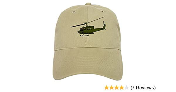 c68999edc4794 Amazon.com  CafePress Huey Helicopter UH 1 Color Baseball Cap with  Adjustable Closure