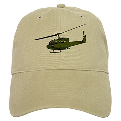 CafePress - Huey Helicopter UH-1 Color Cap - Baseball Cap with Adjustable Closure, Unique Printed Baseball (Helicopter Hats)