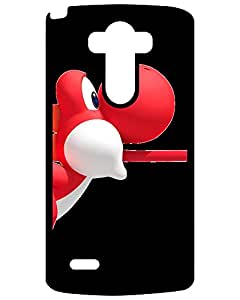 2015 7348720ZA390075669G3 Tpu Fashionable Design Mario Road Riding Red Yoshi LG G3 phone Case Amy Nightwing Game's Shop
