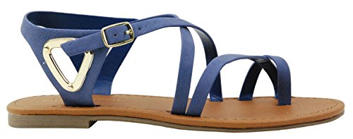 Soda Womens Valine Asymmetrical Sandals product image