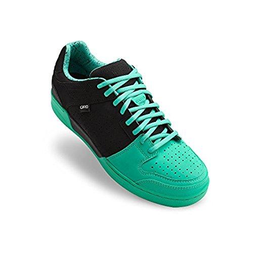 Giro Jacket Shoes Black / Turquoise 41 & E-Tip Glove Bundle by Giro