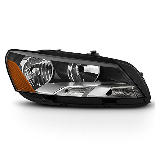 15 Volkswagen Passat Halogen Model Replacement Headlight Headlamp - Passenger Side Only ()