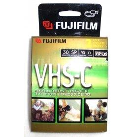 2 FujiFilm Video TC-30 VHS-C Premium Quality Videocassette VHS Camcorder Cassette by Fujifilm