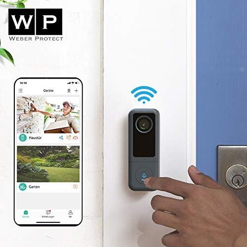 Weber Protect Cardea WLAN Video Türklingel - IP Türsprechanlage Vergleich