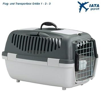 perros y gatos Caja de vuelo / Cajas de transporte IATA aprobado , Talla 1: Amazon.es: Productos para mascotas