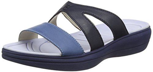 Padders 754, Chanclas Mujer Azul (Azul Combi)