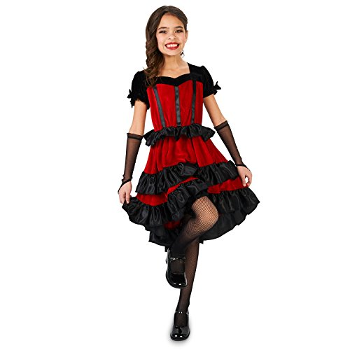 Can Can Dancer Child Costume S (4-6) ()