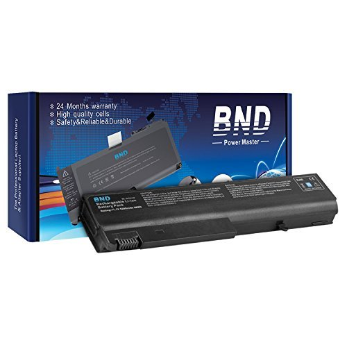 BND Laptop Battery [with Samsung Cells] for HP Compaq 6910p 6510b 6710b NC6400 NC6220 6715s NC6120 NX6110 - 24 Months Warranty[6-Cell Li-ion 5200mAh/58Wh] (Notebook Pc Nc6140)