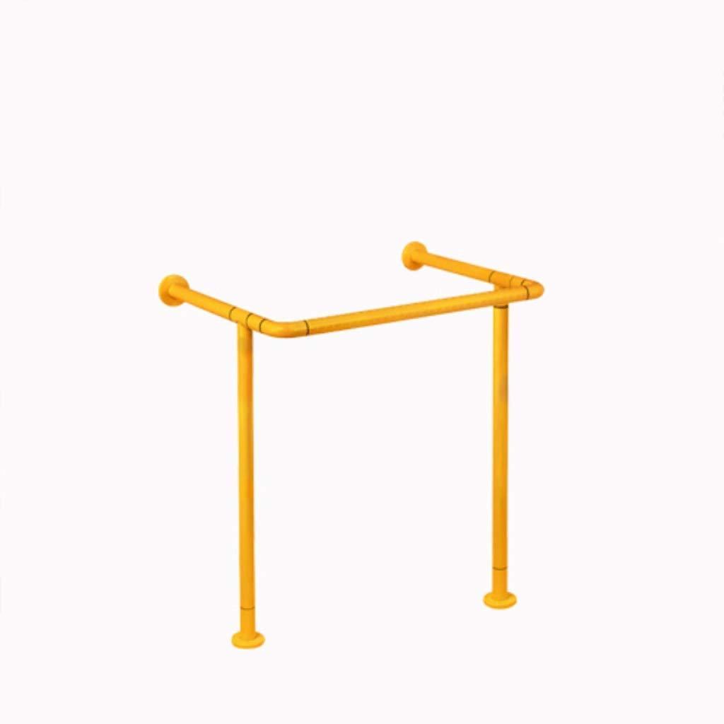 【70%OFF】 304ステンレススチールの安全手すりバリアフリーの柱盆手すり現場型手すり洗面所洗面所ナイロン滑り止めハンドル(カラー別売) いえろ゜ B07GV41SLN (色 : イエロー イエロー いえろ゜) イエロー いえろ゜ B07GV41SLN, ツルダチョウ:5cc03ab7 --- a0267596.xsph.ru