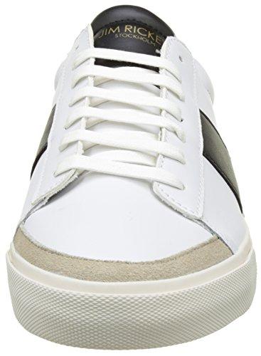 Jim Rickey Gusten - Botas Hombre Blanco (White/Black)