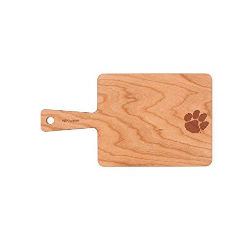 """Epicurean Clemson University Tigers Serving Board, 9"""" x 7"""","""