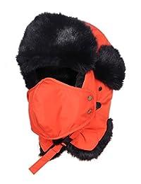 INBIKE Unisex Winter Ear Flap Cap Trapper Bomber Hat with Windproof Face Mask