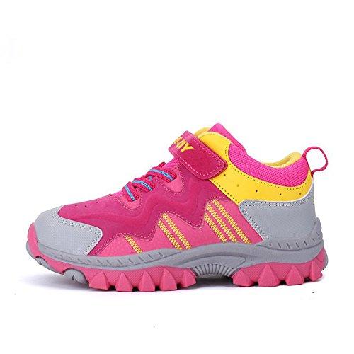 À Garçon Fille Course Trekking Rose Pour Chaussures De Happygo Scratch Sport Randonnée Enfant Antidérapantes waq0PP
