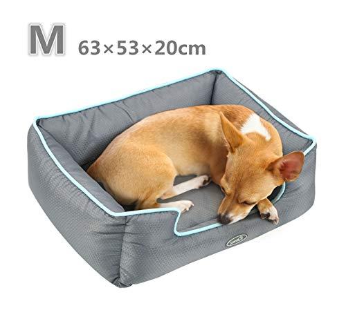 🥇 Pecute Cama de Perros y Gatos Alfombra para Mascotas Tela Impermeable Desmontable y Extraíble
