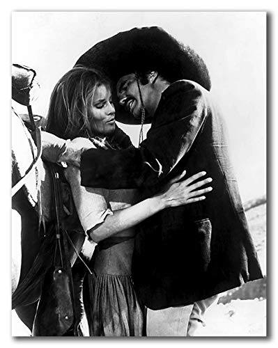 wallsthatspeak Raquel Welch and Burt Reynolds in 100 Rifles Printed on 22x28 Poster Wall Art by Movie Star News]()