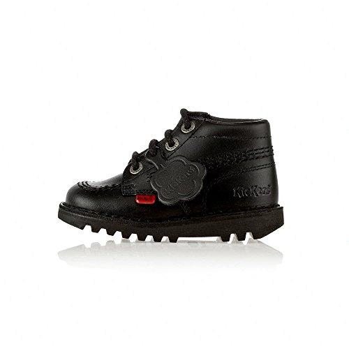 Kickers , Jungen Stiefel schwarz schwarz