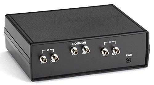 Black Box Fiber Optic A/B Switch Latching with ST MM connectors (Micro Connectors Fiber Optic Duplex)