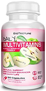 Biotecture Women's Multivitamins – The 'All You Need' Daily Multivitamin, In A Very Special Blend Multivitamin For Women – 30 Day Supply. Once A Day Serving.