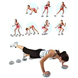 001 Yoga Balance Ball, Balance Pods Set - 2 Pcs