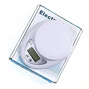 New Digital Kitchen Scale Diet Food Compact LCD Kitchen Scale 5kg X 1g 2014