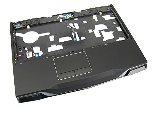 Alienware M14x / M14xR2 Palmrest Touchpad Assembly - 3JV63 Grade A - Palmrest Touchpad Speakers
