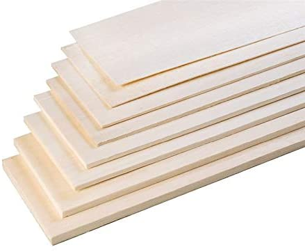 Amazon Com Viloga Premium Balsa Wood Sheets 2mm Thin Wooden Plates Diy Model Craft Special For Aircraft Ship House Modelling Making 9pcs 2 X 100 X 500mm