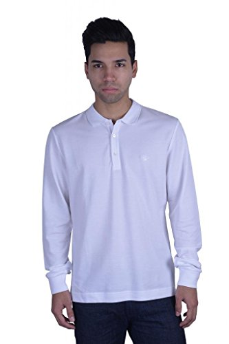Christian Dior Men's White Long Sleeve Polo Shirt US S IT - Us Dior