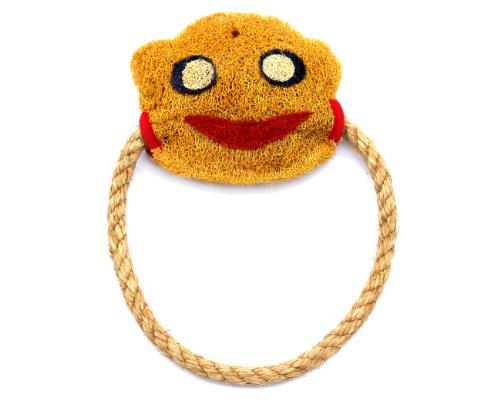 Eco-Loofah EPetOrigD-MO Original Dog Toy, Monkey Design, My Pet Supplies