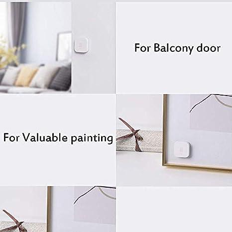 1x Aqara Controlador de cubo m/ágico 1x Xiaomi Smart Gateway 1 bot/ón 1X interruptor inalambrico Kit de seguridad para Xiaomi Aqara Zigbee Smart Home 3 2x Aqara Sensor de puerta y ventana