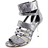 MICHAEL Michael Kors Women's Shiloh Metallic Leather Sandals