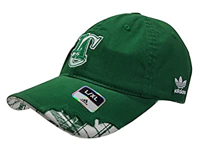 adidas NBA Los Angeles Clippers St. Patrick's Day Slouch Flex Hat Cap Size L/XL (7 1/8-7 5/8)