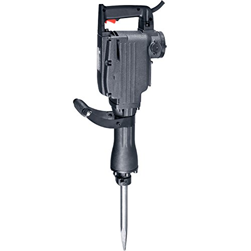 Neiko 02845A Electric Demolition Jack Hammer with Point and Flat Chisel Bits | Includes 4 Extra Carbon Brushes and Safety Protection Kit (Electric Jackhammer compare prices)