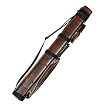 3x6 Hard Pool Cue Billiard Stick Carrying Case, (Several Colors Available)